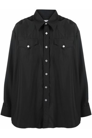OUR LEGACY Buttoned-pocket shirt