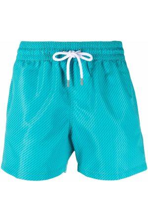 Frescobol Carioca Diagonal-stripe swimming trunks