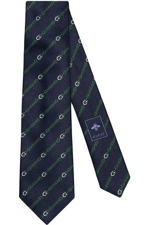 Gucci Men Bow Ties - Interlocking G chain tie