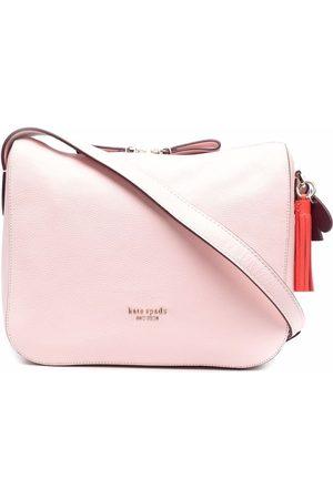 Kate Spade Women Shoulder Bags - Medium logo-plaque shoulder bag