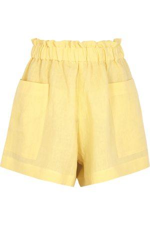 Casa Raki Emilia linen shorts
