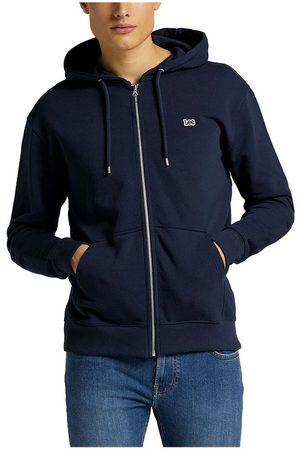 Lee Basic Full Zip Sweatshirt XXXL Navy
