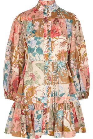 ZIMMERMANN Women Casual Dresses - Cassia printed cotton shirt dress