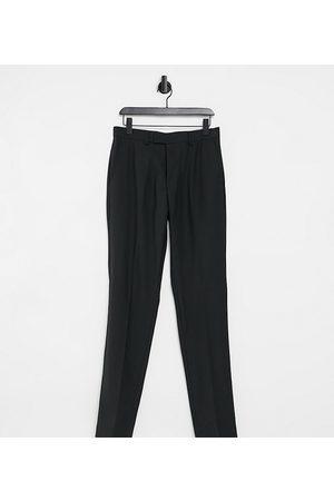 French Connection Men Skinny Pants - Tall slim fit plain suit pants