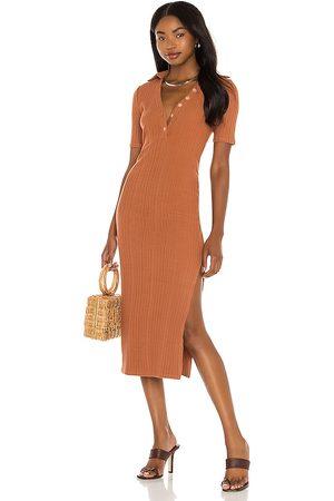 House of Harlow Women Bodycon Dresses - X Sofia Richie Inaya Dress in Rust.