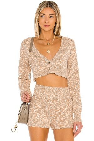 House of Harlow X Sofia Richie Kennedy Cardigan in Neutral.