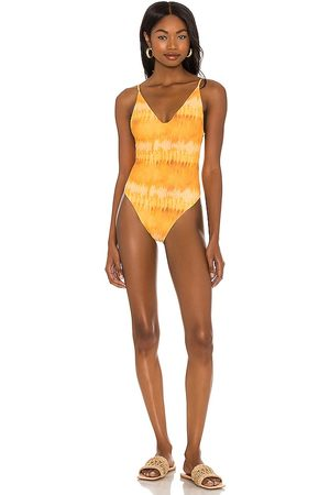 House of Harlow Women Swimsuits - X Sofia Richie Virginia One Piece in Yellow.
