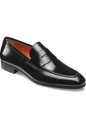santoni Men's Gavin Slip On Penny Loafers