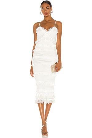 V. Chapman Narcisse Midi Dress in .