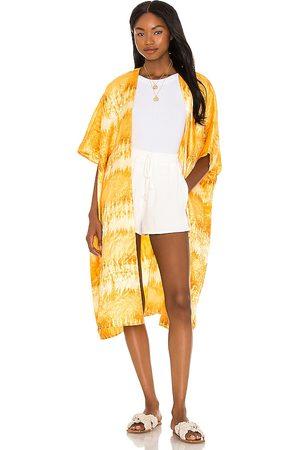 House of Harlow Women Kimonos - X Sofia Richie Danna Kimono in Yellow.