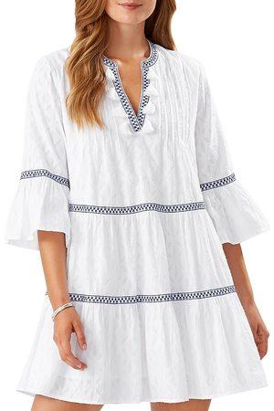 Tommy Bahama Jacquard Tiered Dress