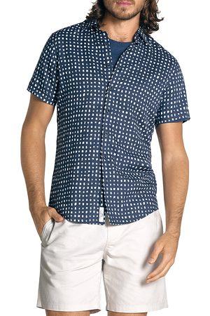 Rodd & Gunn Lydbrook Slim Fit Short Sleeve Linen Shirt