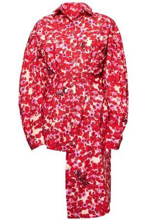 Natasha Zinko Poppy Print Shirt