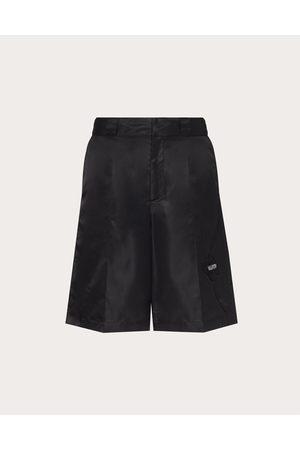 VALENTINO Men Bermudas - Men's Garden Nylon Bermuda Shorts Man / 100% Poliammide 44