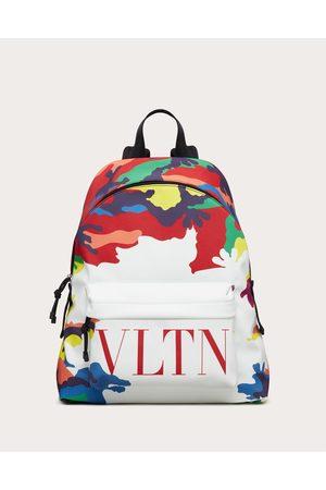 VALENTINO GARAVANI Camou7 Nylon Backpack Man / 100% Poliammide OneSize