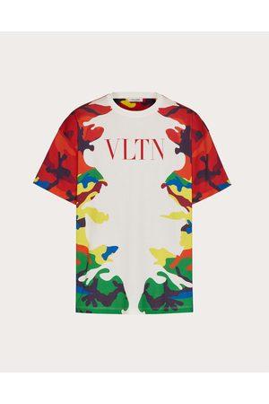VALENTINO Men T-shirts - Cotton T-shirt With Camou7 Print Man / Cotton 100% 3XL