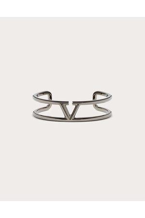 VALENTINO GARAVANI Men Bracelets - Vlogo Signature Metal Bracelet Man Lead Brass 100% L