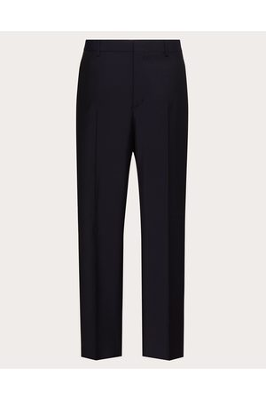 VALENTINO Men Pants - Mohair Pants Man Navy Mohair 16%, Wool 84% 46