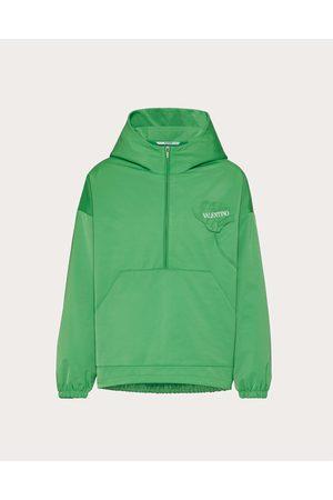 VALENTINO Men Coats - Men's Garden Nylon Pea Coat Man Polyester 100% L
