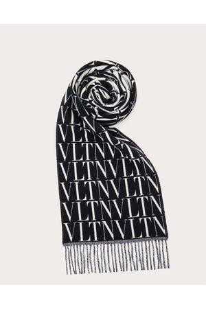 VALENTINO GARAVANI Men Scarves - Vltn Times Wool And Cashmere Scarf Man / Cashmere 8%, Virgin Wool 92% OneSize