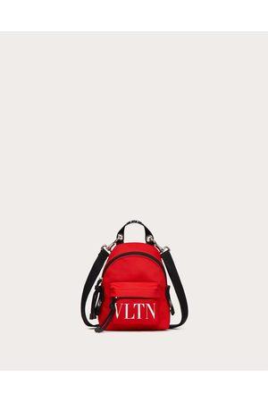 VALENTINO GARAVANI Men Rucksacks - Mini Vltn Nylon Backpack Man Pure /optic 100% Poliammide OneSize