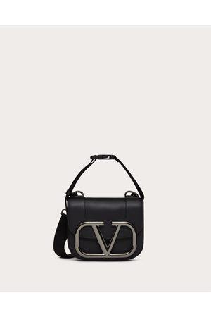 VALENTINO GARAVANI Men Bags - Supervee Crossbody Bag In Leather Man 100% Pelle Bovina - Bos Taurus OneSize