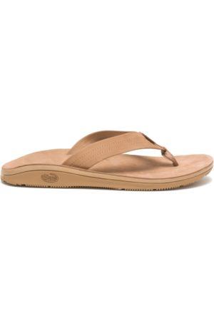 Chaco Men Men's Classic Leather Flip Tan, Size 8 Medium Width