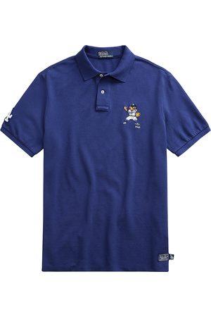 Polo Ralph Lauren Men's Basic Mesh Dodgers™ Bear Polo - Baseball Royal - Size Medium