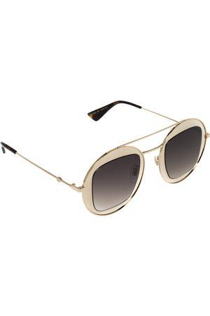 Gucci Women Round - Gold/ GG0105S Gradient Round Sunglasses