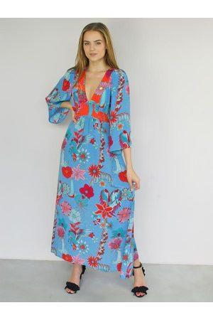 Stardust FOLK Pegasus Print Maxi Dress