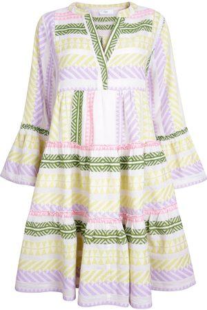DEVOTION New Season - Ella Short Dress Multi Lilac