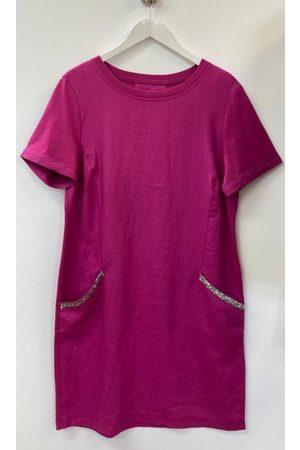 Oui Diamante Pocket Linen T Shirt Dress 73323 3440