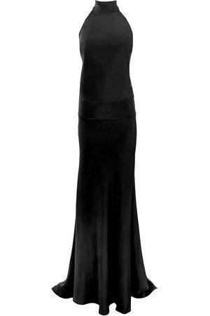 THALÈ BLANC Women Halterneck Dresses - BABYLON HALTER GOWN