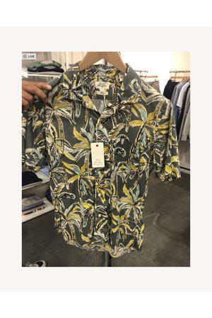 HARTFORD Palm Print Short Sleeve Shirt