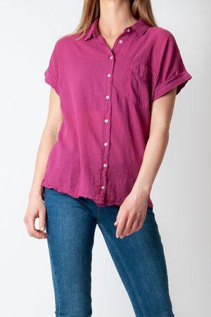 HARTFORD Teva T-shirt In Pomegranate