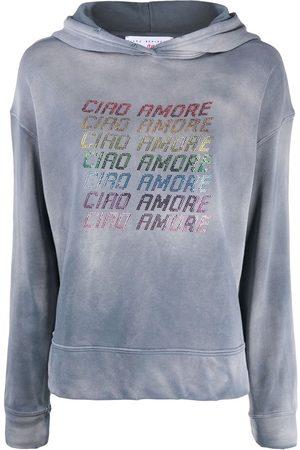 GIADA BENINCASA Women Sweatshirts - WOMEN'S S1721FDFD4GREY GREY COTTON SWEATSHIRT