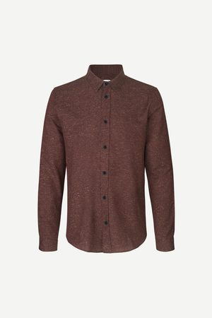 Samsøe Samsøe Liam NX shirt 12815 Cinnamon