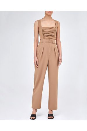 C/meo Collective Women Jeans - Camel Deconstruct Trousers