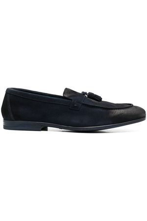 Doucal's MEN'S DU2823NWTOUZ0672N05 SUEDE LOAFERS