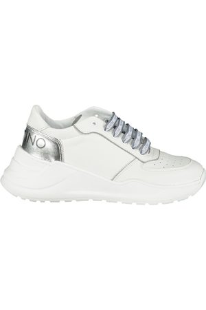 VALENTINO Womens Shoes Heel Logo Trainers