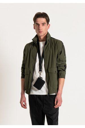 Antony Morato Multi Pocket Bomber Jacket Khaki Colour: Khaki
