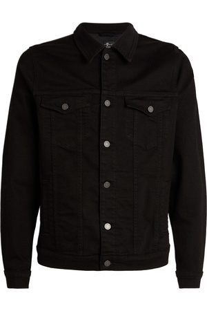 7 for all Mankind Dark Perfect Jacket in Luxe Performance Fabric JSK5B780LB