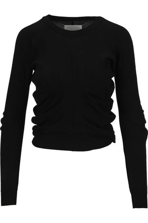 Martin Margiela Ruched detail knitted jumper