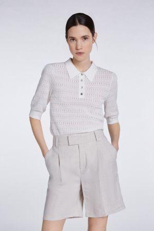 SET Knitted Jumper in Pristine