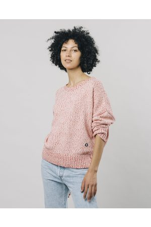 Brava Fabrics Women Sweaters - Mouline Coral Sweater