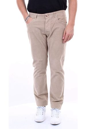 SP1 Men Jeans - MEN'S ROMAU3909BEIGE BEIGE COTTON JEANS
