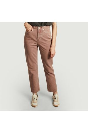 MUD Jeans Relax Rose high waist straight tinted jeans Terra