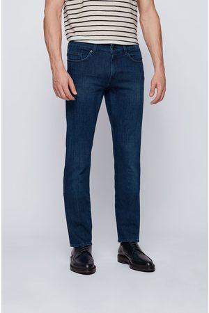 HUGO BOSS DELAWARE3-1 Dark Cashmere Touch Slim-Fit Jeans 50449630