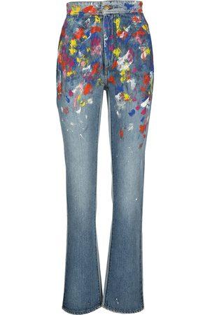 Philosophy Paint slpatter jeans