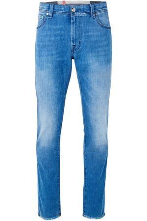 sartoria tramarossa Leonardo Stampato Jean (Light Blue)